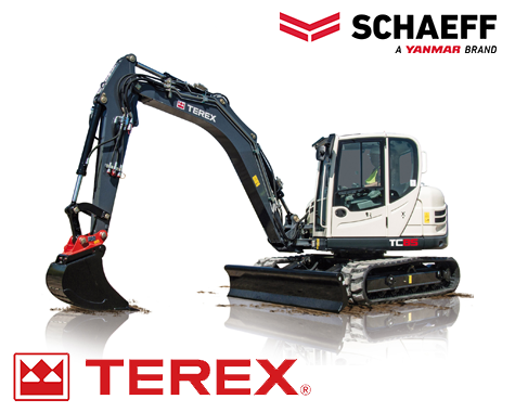 Schaeff Terex Wheel Excavators