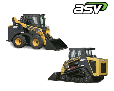 ASV Track Loaders and ASV Skid Steers